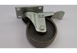 """4"""" Steel Brake 100mm Load Capacity 130kg"""
