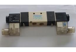 "2 Position 5 Port Double Solenoid Valve - DC24V 1/4"""